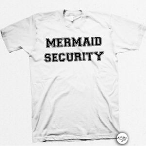 """Mermaid Security"" T-shirt"